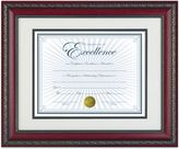 Bed Bath & Beyond 8.5-Inch x 11-Inch Recognition Document Frame in World Class Rosewood