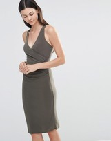 Love Midi Dress With Cross Back Straps