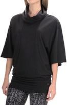Zobha Tara Cowl Neck Tunic Shirt - Short Sleeve (For Women)