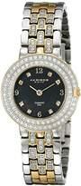 Akribos XXIV Women's AK598TTG Impeccable Diamond Swiss Quartz Bracelet Watch