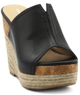 Adrienne Vittadini Cherli Platform Wedge Sandals Women's Shoes