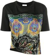 Sandro Paris paisley print T-shirt