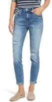 Mavi Jeans Women's Tess Ripped Skinny Crop Jeans