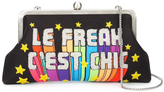 Sarah's Bag Le Freak C'est Chic Embellished Clutch