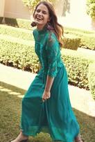 Thumbnail for your product : Little Mistress Jade Crochet Dress