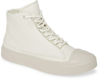 Ecco Flexure Cap Toe High Top Sneaker