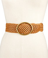 INC International Concepts Woven Belt, Created for Macy's