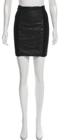 4415fa34db33 Leather Skirt Petite - ShopStyle