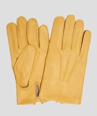 Cambridge Silversmiths Dents Gloves Dents Cashmere Lined Deerskin Gloves in Cork