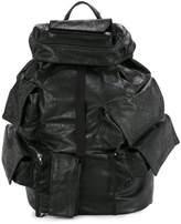 Julius cargo pocket backpack