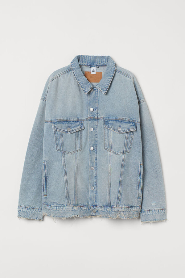 Thumbnail for your product : H&M H&M+ Oversized Denim Jacket - Blue