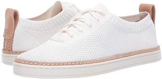 UGG Sidney Sneaker (White) Women's Lace up casual Shoes