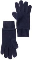 Portolano Uniform Navy Cashmere Tech Glove