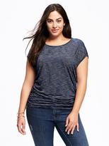 Old Navy Striped Plus-Size Cocoon Tee