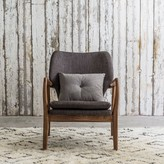 Graham and Green Odin Armchair In Two Tone Grey