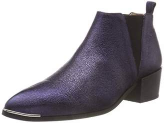 Pavement Women's Karen Low Ankle Boots, Blue (Navy Metallic 345 345)