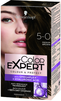 Schwarzkopf Colour Expert Permanent Hair Colour 5.0 Medium Brown