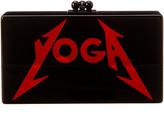 Edie Parker Jean Yoga Acrylic Clutch