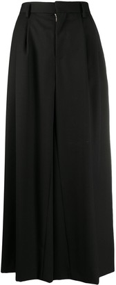 Comme des Garcons Pleat-Back Wide Leg Trousers