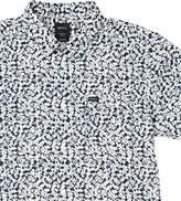 RVCA Men's Brong Short Sleeve Woven Shirt