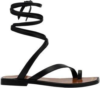 Frame Le Santa Barbara Lace-Up Sandal