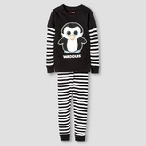 Girls' Beanie Boos Pajama Sets - Black