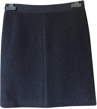 Whistles Black Wool Skirt for Women