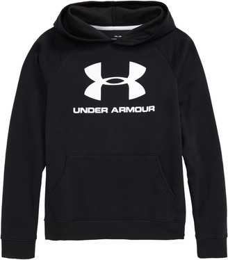 Under Armour Rival Logo Graphic Hooded Sweatshirt