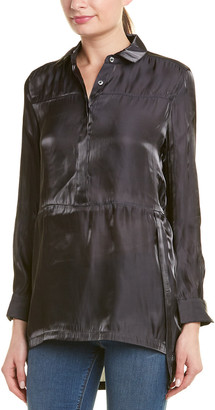 Richard Quinn Megan Silk Top