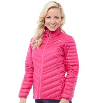 Berghaus Womens Hudswell Hydrodown Insulated Jacket Pink Peacock