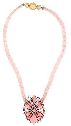 Shourouk Ikat Rose Necklace