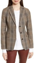 Theory Women's Faringdon Check Riding Jacket