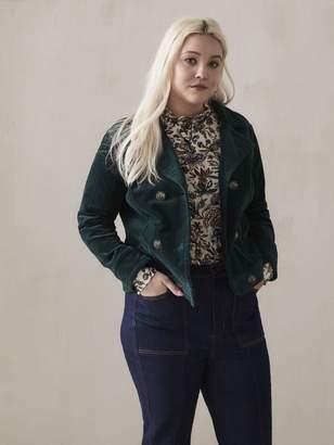 Green Corduroy Jacket - Addition Elle