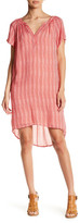 Velvet by Graham & Spencer Print Gauze Hi-Lo Dress