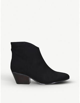 Nine West Tristin faux-suede ankle boots
