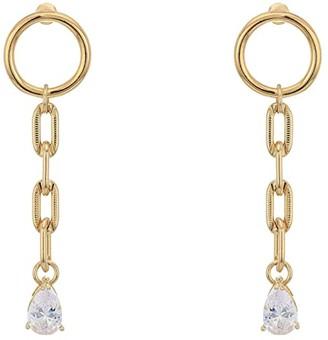Vanessa Mooney The Priscilla Earrings (Gold) Earring