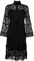 See by Chloe lace embroidered dress - women - Viscose/Polyester - 36