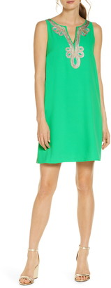 Lilly Pulitzer R) Lilly Pultizer(R) Cherlyn Sleeveless Shift Dress