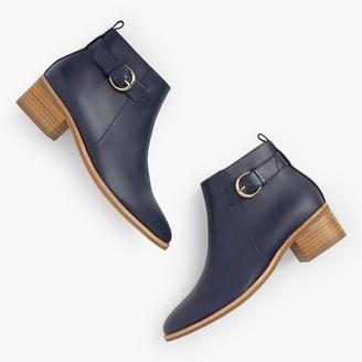 Talbots Via Buckle Booties - Vachetta Leather