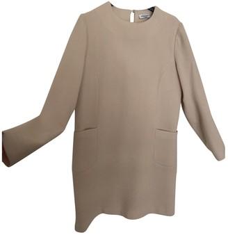 Au Jour Le Jour Pink Wool Dress for Women