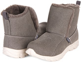 Floopi Women's Cold Weather Boots Grey - Gray Faux-Fur Mid-Calf Bootie - Women