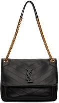 Thumbnail for your product : Saint Laurent Black Medium Niki Shoulder Bag