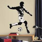 York Wall Coverings York Wallcoverings Soccer Player Peel and Stick Giant Wall Decals