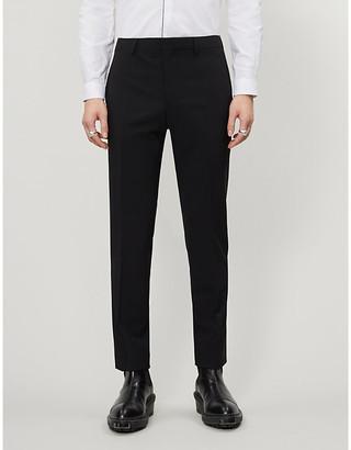 The Kooples Slim-fit wool-blend trousers