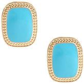 ASOS Rectangular Stone Stud Earrings