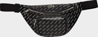 Lacoste Live Coated Print Canvas Belt Waist Pack
