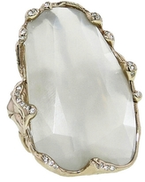 Lucifer Vir Honestus Ice Moonstone Ring with Diamonds - White Gold