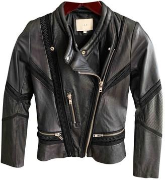 IRO Black Leather Leather jackets