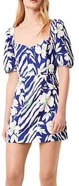 French Connection Berina Whisper Printed Dress