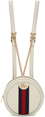 Gucci Off-White Mini Ophidia Backpack
